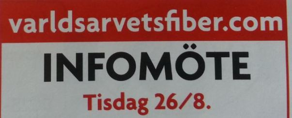 Björklövet annons infomöte